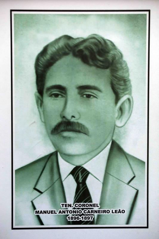 Ten. Coronel Manuel Antônio Carneiro Leão